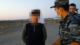 Наркоторговца задержали в Жамбылской области