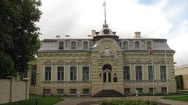 Здание посольства Беларуси в Литве