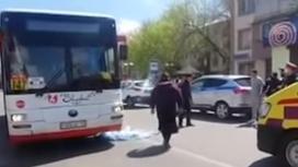 Автобус сбил ребенка