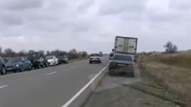 ДТП на трассе в Алматинской области