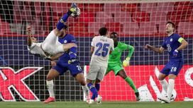 Мехди Тареми забивает гол-красавец в ворота Челси