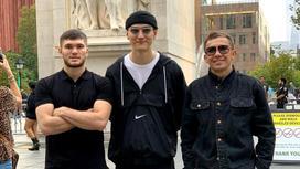 Али Ахмедов, Нурлан Сабуров и Геннадий Головкин