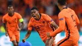 Дензел Дамфрис приносит Нидерландам победу