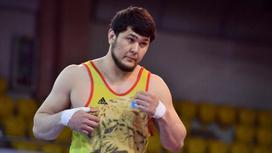 Борец Юсуп Батырмурзаев