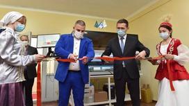 Открытие лабораторного комплекса для диагностики коронавирусной инфекции