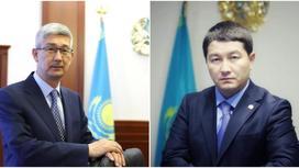 Серикбай Трумов и Нурдаулет Килыбай