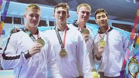 сборная Казахстана по плаванию