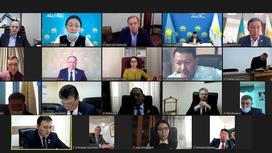 Заседание Аграрного совета при партии Nur Otan
