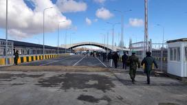 Пропускной пункт на государственной границе