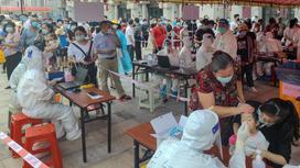 Массовое тестирование в Фуцзяне