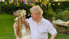 Борис Джонсон и его невеста