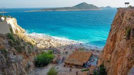Пляж Капутас-Бич на юго-западе Турции