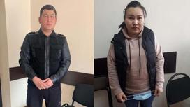 Подозреваемые в мошенничестве в Алматы