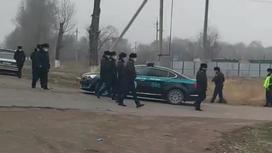 Сотрудники полиции на месте преступления