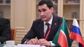 Сына президента Туркменистана назначили замминистра иностранных дел