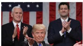 Трамп шесть минут аплодировал сам себе после выступления в Конгрессе