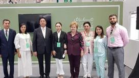 Абу Дабида өткен кітап мерекесіне қазақстандық делегаттар да қатысты (фото)