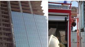 Астанадағы атышулы Әбу-Дәби Плазадан тағы да өрт шықты (фото, видео)