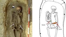 Италияда ежелгі адамдардың қаңқалары табылды (фото)