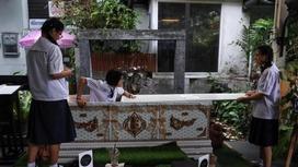Тайландта табыт пен адам қаңқасы бар мейрамхана ашылды (фото)