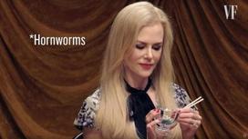 Дәмі өте ерекше: Әйгілі актриса жәндіктерді тірідей жеді (видео)