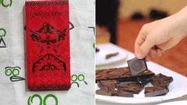 Изображение флага на шоколаде возмутило кыргызстанцев (фото)