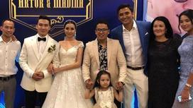 Казахстанские звезды отгуляли на свадьбе Артура Толепова