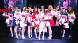 Самую красивую студентку выбрали в Алматы