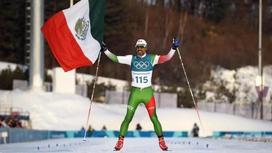 Мәреге ең соңғы болып келген мексикалық шаңғышыны жұрт төбесіне көтерді (фото, видео)