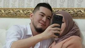 Көрінбей кеткен отандық әнші хиджабтағы келіншегін елге таныстырды (фото)