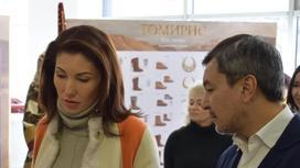 Алия Назарбаева о «Томирис»: Это один из крупнейших исторических фильмов (фото)