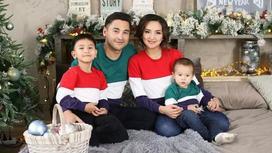 Салтанат Бакаева родила третьего сына