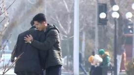 Шымкенттік жастардың Алғыс айту күніндегі әрекеті жұртты сүйсіндірді (видео)