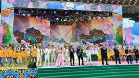 Как в Алматы празднуют День единства народа Казахстан (фото)