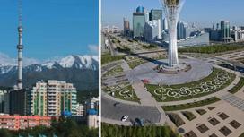 Ауа райы болжамы: Алматыда үсік жүріп, Астанада күн жылынбақшы