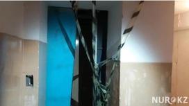 Ақтөбеде лифтіге мінген белгілі журналист бөлшектеніп қалды (фото)
