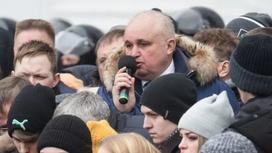 Путин назначил вместо Тулеева вставшего на колени на митинге Цивилева