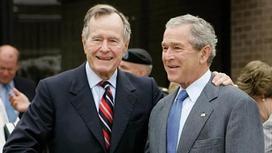 Әйелі қайтыс болған үлкен Джордж Буш жансақтау бөліміне түсті
