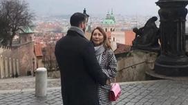 Айгуль Иманбаева заинтриговала романтичным фото с парнем в Праге