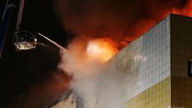 Мужчина, потерявший семью в ТЦ в Кемерово, показал новое видео начала пожара