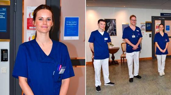 Шведская принцесса устроилась работать в больницу для борьбы с коронавирусом
