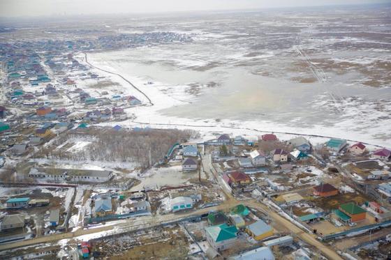 Угрожает ли потоп Нур-Султану этой весной (фото)