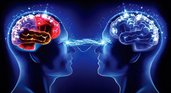 Зрительный контакт: люди смотрят друг другу в глаза