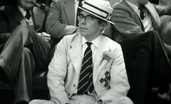 Стивен Хокинг в молодые годы