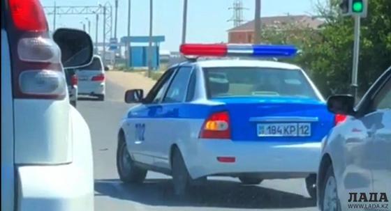 Полицейского оштрафовали в Актау