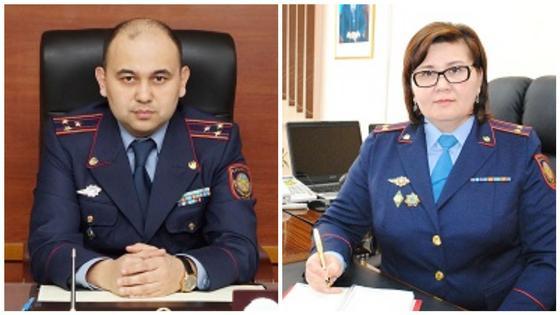 Арест высокопоставленных полицейских в Акмолинской области: что о них известно