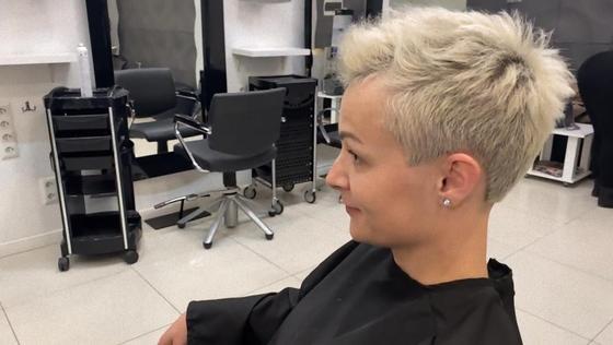Укладка еж на короткие волосы