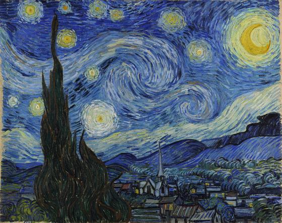 «Звездная ночь» (Винсент Ван Гог)