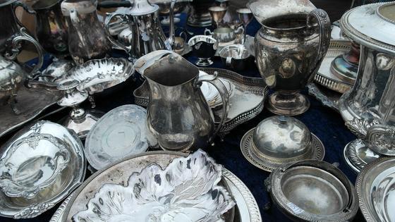 Серебряные предметы