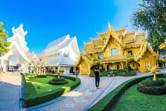 Панорама города в Таиланде